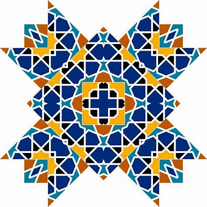Islamic Geometric Patterns Clipart Tile Clip Pattern