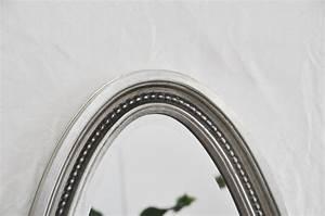 Spiegel Oval Silber : ovalspiegel wandspiegel oval spiegel silber 152 x 62 cm ebay ~ Markanthonyermac.com Haus und Dekorationen