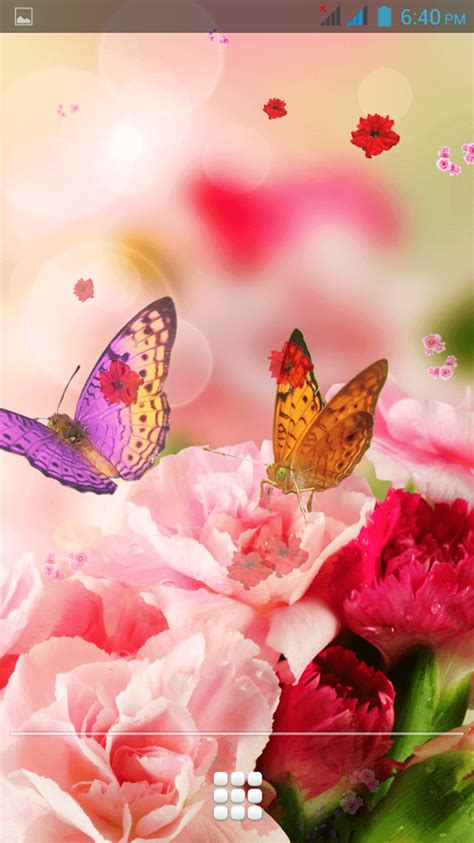 Free Live Animated Wallpapers For Mobile - animated beautiful flowers wallpapers for mobile