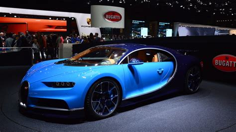 Chiron, Bugatti's Brand New Car, Is Out This Fall