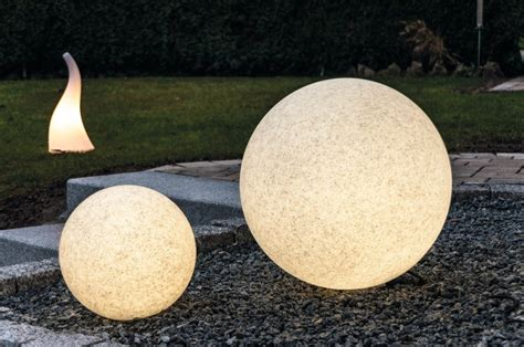 Leuchtkugel Mundan Granit 30 Cm