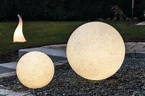 leuchtkugel mundan granit 50 cm With französischer balkon mit solar kugelleuchte garten 50 cm