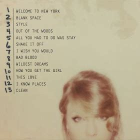 DTG Reviews: Taylor Swift shares 1989 Tracklist