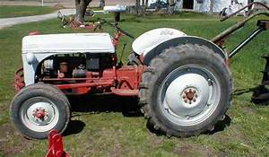Famous 1954 Ford 8n Tractor