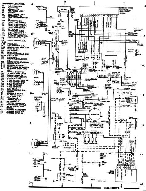 Ford Eec V Wiring Diagram by I A 1985 Ford Bronco Ii V6 2 8l Feedback Carb Eec