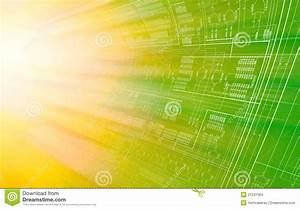 Circuit Diagram Stock Illustration  Illustration Of Curved