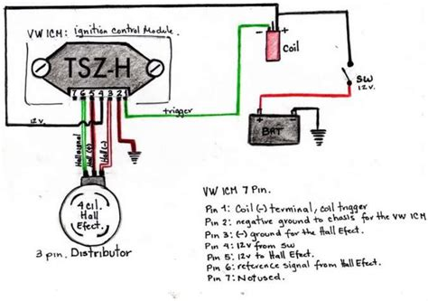 3 Wire Distributor Wiring Diagram by Distributor Oxyboxer