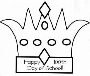 ausmalbilder fur kinder malvorlagen und malbuch o 100th With 100th day of school crown template