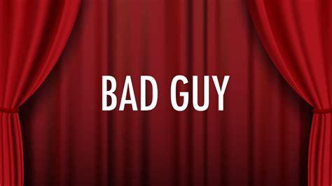 Billie Eilish – bad guy (Lyrics) 🎵 - YouTube