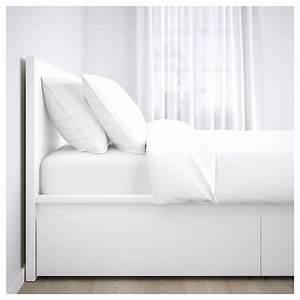 Tischdecke Weiß Ikea : malm bettgestell hoch mit 2 schubk sten wei ikea ~ Watch28wear.com Haus und Dekorationen