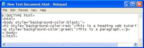 Html Code For Background Color How To Learn Html Style Background Color Web Tutorials