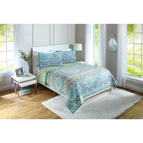 better homes and gardens quilt collection watercolor