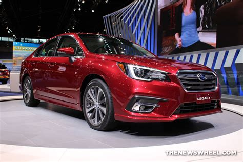 subaru legacy red 2017 2017 chicago auto show photo gallery see the cars subaru