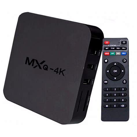 android tv box mxq 4k ultra hd