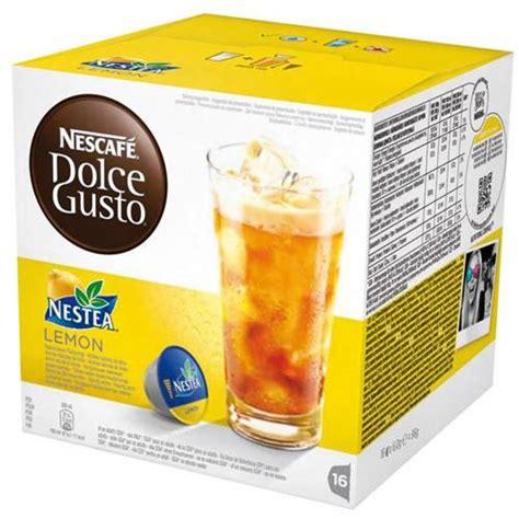 Www Dolce Gusto It Bicchieri Omaggio by Vendita 16 Capsule Nescaf 232 Dolce Gusto Nestea Limone