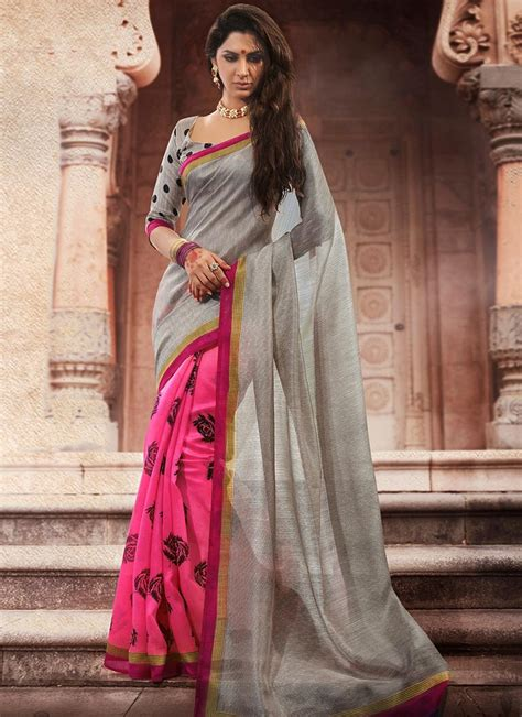 grey sarees  pictures styles  life