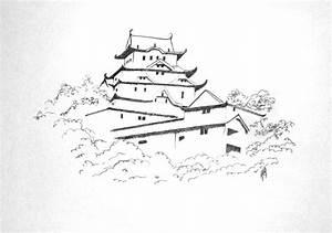 Maison Japonaise Dessin : encre krystynalr 39 s blog ~ Melissatoandfro.com Idées de Décoration