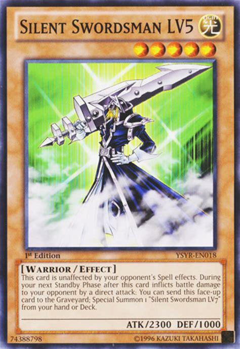 yugioh silent swordsman lv