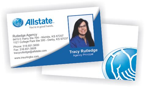 Give it some love and you will reap the benefits. American Family Farmers Allstate Insurance Business Cards