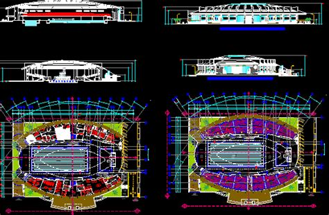 olimpic swimming pool dwg section  autocad designs cad