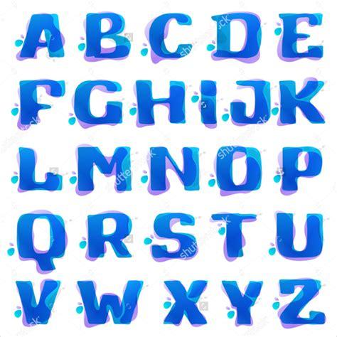 alphabet bubble letter designs  premium