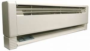 Qmark Hbb 1000 White Electric Baseboard Heater 3 8 Ft
