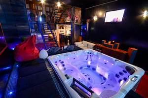 louer loft romantique a lille avec jacuzzi hammam With location chambre avec jacuzzi privatif herault