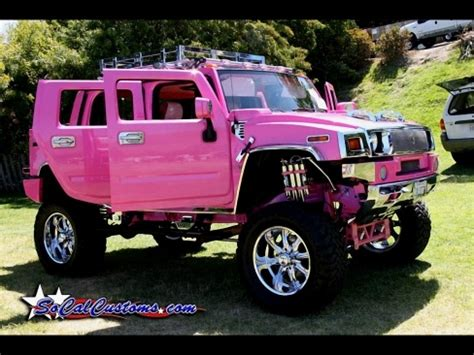 cool pink hummer pink hummer 2 i would so drive this cool stuff for