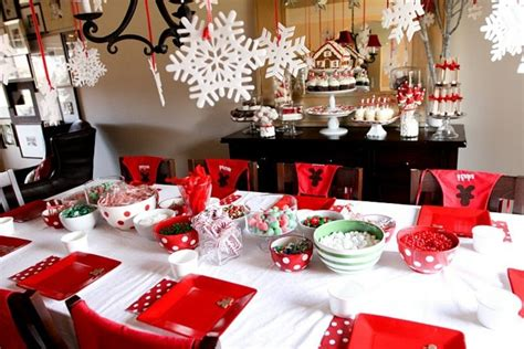 La Décoration De Table De Noël