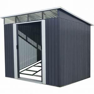 Gartenhaus Metall Pultdach : gartenhaus aus metall 6 67m skylight anthrazit verankerungskit x metal ~ Eleganceandgraceweddings.com Haus und Dekorationen