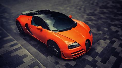 Car Wallpaper Orang by Car Bugatti Veyron Bugatti Orange Cars Wallpapers Hd