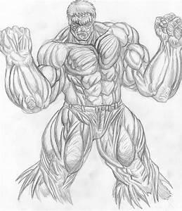 another hulk drawing by godhandninja on DeviantArt