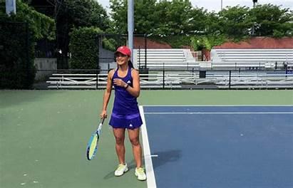 Tennis Serve Play Ball Playing Beginners Beginner