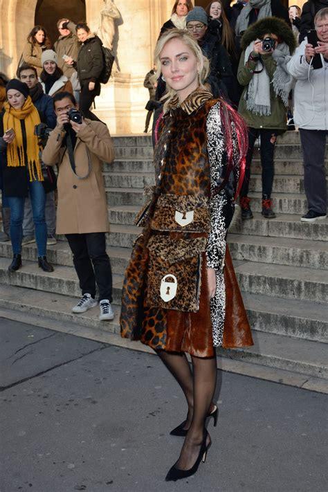 chiara ferragni schiaparelli haute couture fashion show