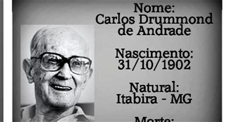 curiousguys2: BIOGRAFIA DE CARLOS DRUMMOND DE ANDRADE RESUMIDA