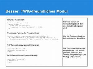 drupal 8 twig template engine With twig template variables