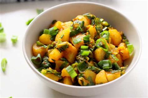 where to get turmeric potato curry recipe how to potato