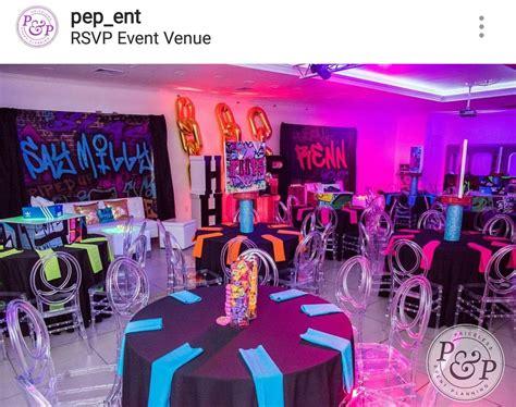 hip hop  theme sweet  birthday party