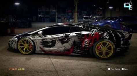 Need For Speed 2015 Lamborghini Best Car To Customisation