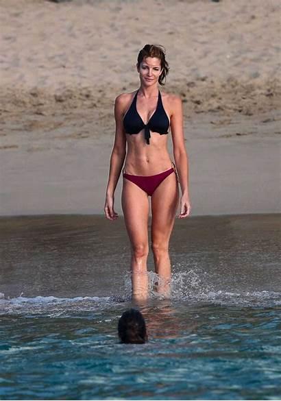 Stephanie Bikini Seymour St Barts Beach Stana