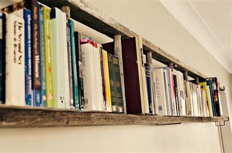 Cheap Bookcase Ideas by Cheap Diy Antique Ladder Shelf
