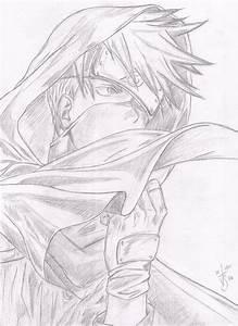 Kakashi Sensei by fieldscarecrow7 on deviantART