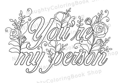 Best Friends Kleurplaten by You Re My Person Best Friend Printable Gift Coloring