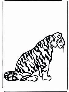 Tiger 2 Malvorlagen Katzenartigen