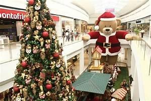Shoppings Decorados Para O Natal Fotos MundodasTribos