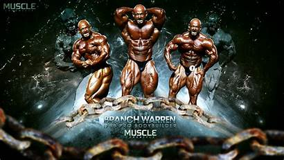 Bodybuilder Bodybuilding Warren Branch Pro Ifbb Builder