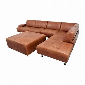 46 off w schillig w schillig leather sectional with for W schillig sectional sofa