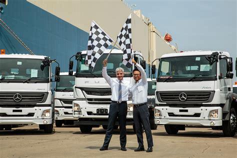 Dicv Crosses The 10,000 Truck Milestone In Exports