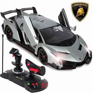 Rc Auto : 1 14 scale rc lamborghini veneno gravity sensor radio remote control car silver ebay ~ Gottalentnigeria.com Avis de Voitures