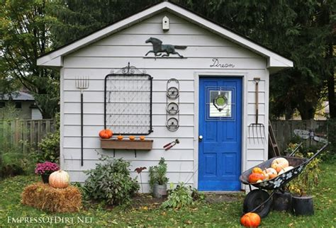 decorating a shed she shed makeover ideas the weathered fox